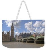 Westminster Bridge Weekender Tote Bag