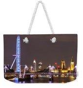 Westminster From Waterloo Bridge London Weekender Tote Bag