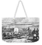 Westward Expansion, 1858 Weekender Tote Bag