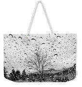 Wet Car Window B Weekender Tote Bag