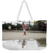 Wet Dry Wet Dry Weekender Tote Bag