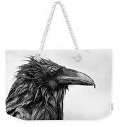 Wet Raven Weekender Tote Bag