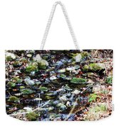 Wet Rocks Weekender Tote Bag