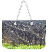 Wet Vineyard Weekender Tote Bag