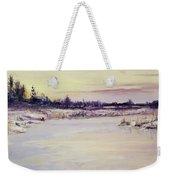 Wetland Winter Weekender Tote Bag