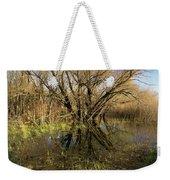 Wetlands Mirror Reflection Weekender Tote Bag