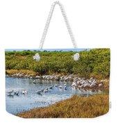 Wetlands Watering Hole Weekender Tote Bag