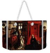Weyden Annunciation Triptych Weekender Tote Bag
