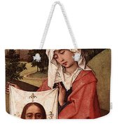 Weyden Crucifixion Triptych  Right Wing  Weekender Tote Bag