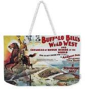 W.f. Cody Poster, 1894 Weekender Tote Bag