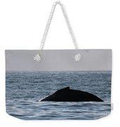 Whale Fin Weekender Tote Bag