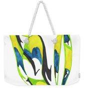 Whale Flow Weekender Tote Bag