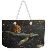 Whale Of The Universe Weekender Tote Bag