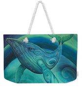 Whale Tohora By Reina Cottier Weekender Tote Bag