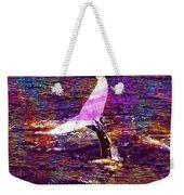 Whale Tail Ocean Animal Sea Water  Weekender Tote Bag