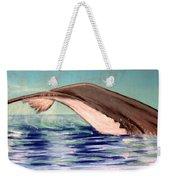 Whale Tail    Pastel   Sold Weekender Tote Bag