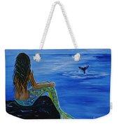 Whale Watcher Weekender Tote Bag