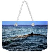Whale Watching Balenottera Comune 4 Weekender Tote Bag