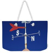 Whale Weather Vane Weekender Tote Bag
