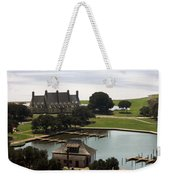 Whalehead Club And Boathouse Weekender Tote Bag