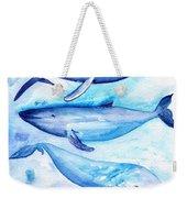 Whales Weekender Tote Bag