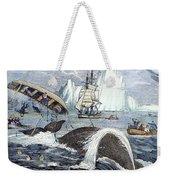 Whaling, 1833 Weekender Tote Bag by Granger