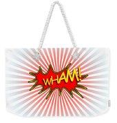 Wham Explosion Weekender Tote Bag