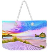 Wharariki Beach Weekender Tote Bag