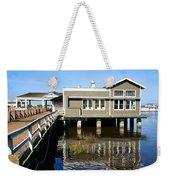 Wharf At Jekyll Island Weekender Tote Bag