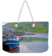 Wharf Near Angelmo Fish Market In Puerto Montt-chile  Weekender Tote Bag