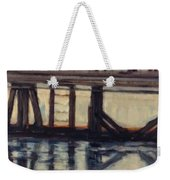 Wharf Reflections@ Halifax N. S. Weekender Tote Bag