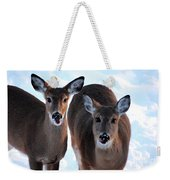 What Do You Say Weekender Tote Bag