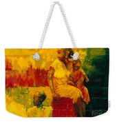 What Is It Ma Weekender Tote Bag by Bayo Iribhogbe