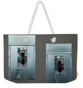 What Is That Dad .... Why It Is A Pay Phone Son Weekender Tote Bag