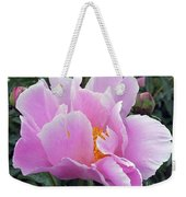 What's In A Name - Bowl Of Beauty Peony Weekender Tote Bag