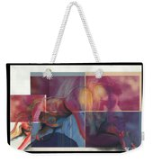 What's On The Artists Mind II Weekender Tote Bag