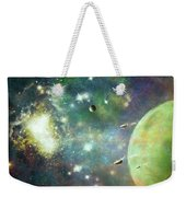 What's Out There Weekender Tote Bag