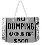 What's Wrong With This Sign Weekender Tote Bag