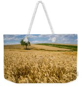 Wheat And A Tree Weekender Tote Bag