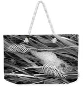 Wheat And Ice Weekender Tote Bag