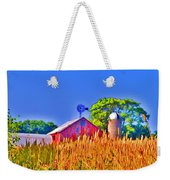 Wheat Farm Near Gettysburg Weekender Tote Bag