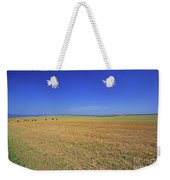 Wheat Field After Harvest Weekender Tote Bag