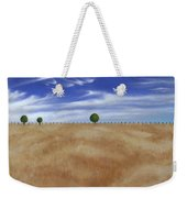 Wheat Field Weekender Tote Bag