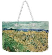 Wheat Field With Cornflowers At Wheat Fields Van Gogh Series, By Vincent Van Gogh Weekender Tote Bag