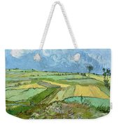 Wheat Fields After The Rain, The Plain Of Auvers Weekender Tote Bag