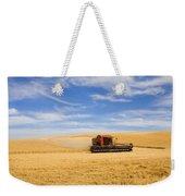 Wheat Harvest Weekender Tote Bag by Mike  Dawson