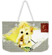 Wheaten Scottish Terrier - During Sickness And Health Weekender Tote Bag