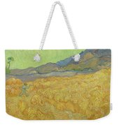Wheatfield With A Reaper Saint-remy-de-provence, September 1889 Vincent Van Gogh 1853 - 1890 Weekender Tote Bag