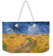 Wheatfield With Crows Weekender Tote Bag by Vincent van Gogh