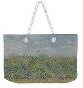 Wheatfield With Partridge Paris, June - July 1887 Vincent Van Gogh 1853 - 1890 Weekender Tote Bag